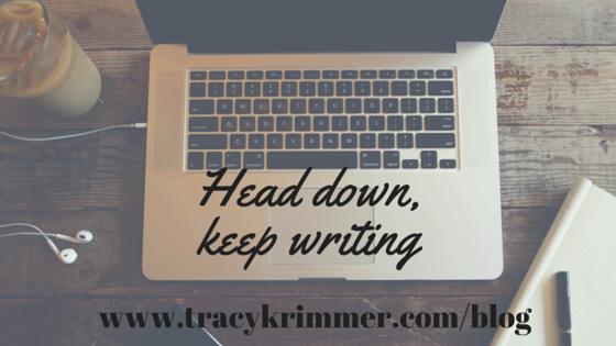 Head down,keep writing